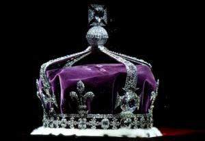 Coroana Regala Britanica incrustata cu diamantul Koh-i-Noor