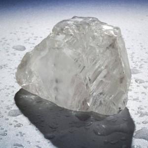 Aspectul brut al diamantului Cullinan