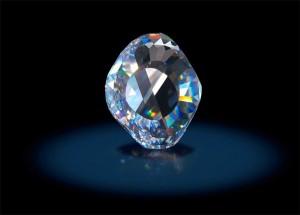 Diamantul original Kooh-i-Noor