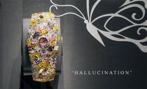 Hallucination Watch - cel mai scump ceas cu diamant din lume